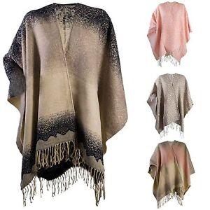 Womens-Warm-Winter-Shawl-Poncho-Wrap-Knitted-Cape-Scarf-Throw-Ladies-One-Size