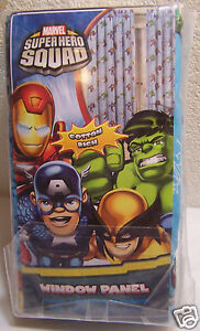 Marvel-Super-Hero-Squad-Window-Curtain-Panels-Drapes-New