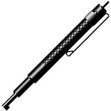 BLACK Handcuff Micro Key w// Clip Urban Non-Metallic Covert Evasion Universal