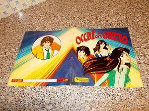 ALBUM-figurine-OCCHI-DI-GATTO-PANINI-1986-COMPLETO-OTTIMO-TIPO-LULU-CREAMY-FLO
