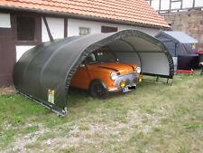 Quad Garage Carport für Roadster Cabrio Coupe Grundfäche ca. 3,6m x 3,7m Höhe 1,