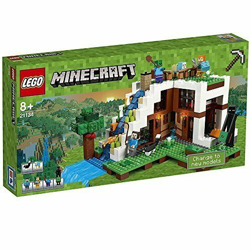 Lego Lego  Minecraft Secret Waterftutti Escape At The Foot Of the waterftutti 2113F S  Ultimo 2018