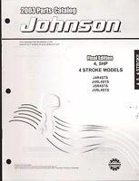 2003 Johnson Outboard Motor 4 & 5 Hp 4 Stroke Parts Manual (905)