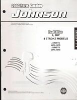 2003 Johnson Outboard Motor 4 & 5 Hp 4 Stroke Parts Manual (905)