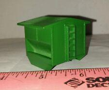 1/64 ertl green feed bunk cattle creep feeder steer stuffer farm toy plastic
