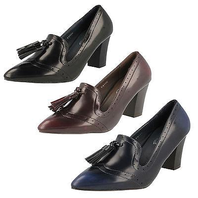 Mujer REBAJAS Spot On Sintético Zapatos de salón f9726