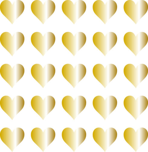 Pantalla de vehículo de pared de ventana día de San Valentín Amor Corazón Vinilo Calcomanía Pegatinas X 25
