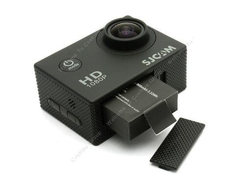 2Pcs 3.7V 900mAh Spare Battery+GIT Dual Slot Charger For SJ8000 4K Sports Camera