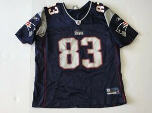 Image is loading Vintage-Reebok-OnField-WES-WELKER-NEW-ENGLAND-PATRIOTS- 705a112e7
