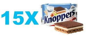 Details about STORCK KNOPPERS 10 pcs German Chocolate snack 15 x 25g /  0 88oz FREE SHIPPING