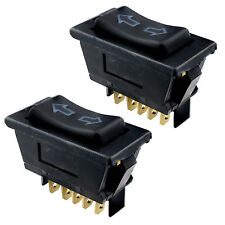2 x Universal Electric Window / Aerial Switch Automotive Car 12V 5-Pin