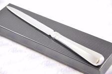 BRAND NEW SHEFFIELD STEEL RATTAIL PATTERN LETTER OPENER/PAPER KNIFE GIFT BOXED