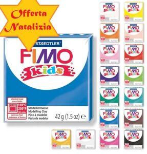OFFERTA-di-20-panetti-di-Fimo-Kids-Staedtler-in-colori-assortiti