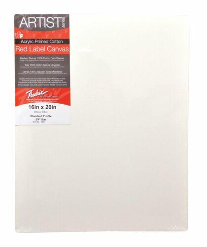TARA//FREDRIX 5037 ARTIST SERIES RED LABEL STRETCH CANVAS 30X48 11//16 BARS