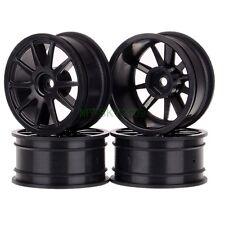4PCS 1/10 Wheel Rims Diameter 52mm Wide 26mm for RC model On-Road car Black 6041