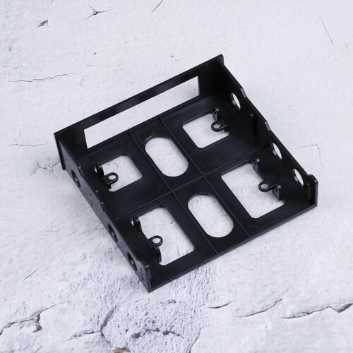 "3.5/"" to 5.25/"" Drive bay computer case adapter mounting bracket usb hub floppy S6"