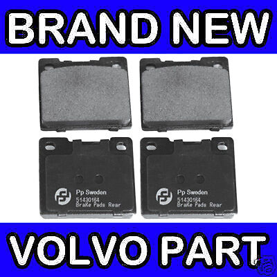 Arrière FREIN PADS 75-93 Volvo 200 240 Girling 260