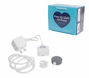 Nano Q2 Silencieux Poisson Aquatique Pompe à Air Pour Aquariums (air-powered Filtres Jusqu'à 60 L)-afficher Le Titre D'origine