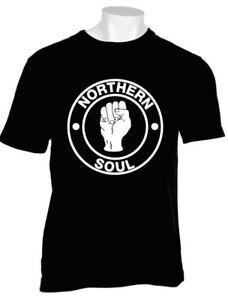 Lambretta Khaki Large Print Northern Soul Scooter Retro T Shirt