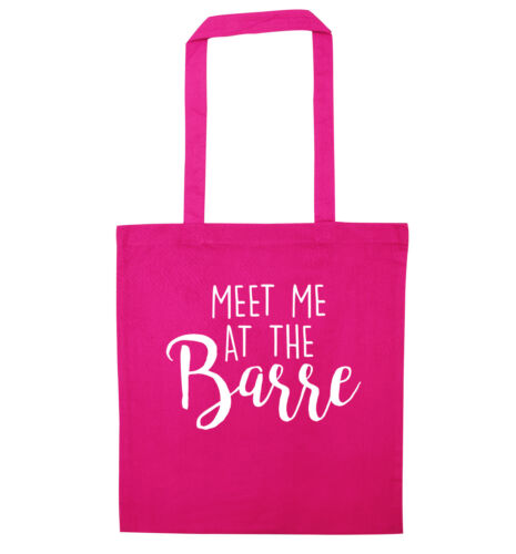 Meet me at the barre tote bag ballet dance class pirouette pointe shoes 3081