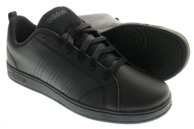 online retailer 44625 0558d Adidas Kids Shoes Lifestyle VS Advantage NEO Black Fashion Unisex New AW4883