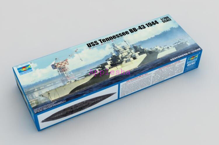 Trumpeter 05782 1 700 USS Tennessee BB-43 1944