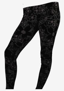 9d3bb5f25f2c77 Nike Leg A See Hawaiian II Print Leggings Black $50 Womens M MED NWT ...