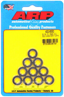 ARP 5//16ID .625OD SS washers Part No 400-8550