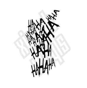Haha Joker Vinyl Sticker Decal suicide squad car (Window Optional) Harley Quinn | eBay