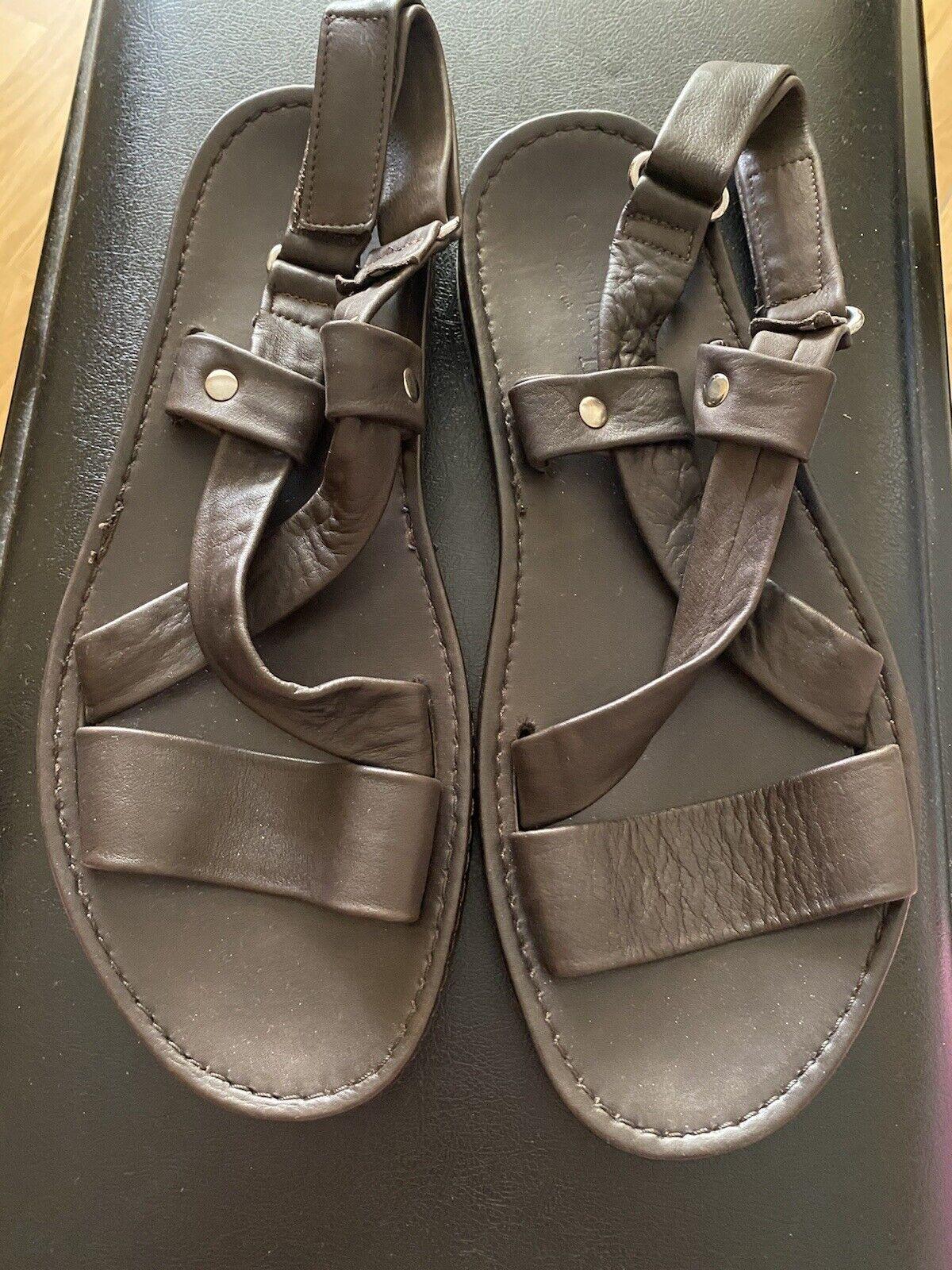 Corneliani Brown Mens Sandals Size 9