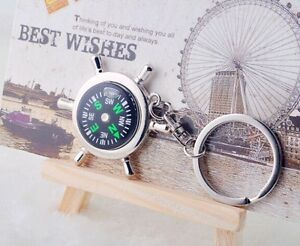 Portable-Metal-Camping-Sport-Hike-Mini-Rudder-Keychain-Compass-Ring-Outdoor