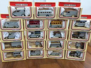 LLEDO-Days-Gone-THE-GREY-SERIES-models-FORD-T-VAN-DENNIS-ROLLS-ROYCE-PACKARD-AEC