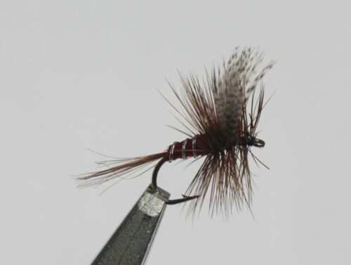 Red Squirrel Assortment; 1 Dozen Trout Fishing Flies