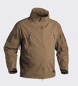 Helikon Tex Soldat Lightweight Soft Shell Outdoor Jacket Veste Coyote Large-afficher Le Titre D'origine Pour Convenir à La Commodité Des Gens