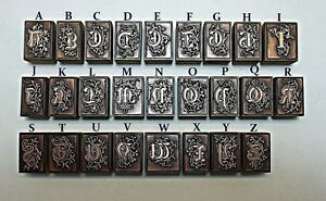 """""""OLD ENGLISH"""" ALPHABET LETTERS."""