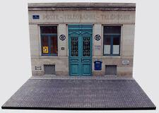 Diorama présentoir Bureau de Poste / French Post Office - 1/24ème - #MR24S064