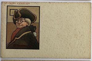 Antique-Raphael-Tuck-Postcard-Ye-Schoolmaster-Series-201