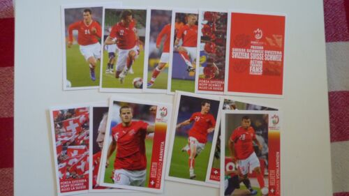 RARE PANINI EXTRA STICKERS UPDATE COMPLETE SET EURO 2008 POSTER SUISSE  NEUF