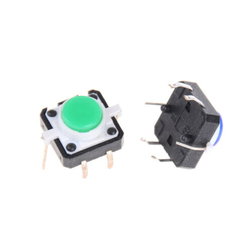 5PCS 12X12X7.3 Tactile Push Button Switch Momentary Tact LED In US