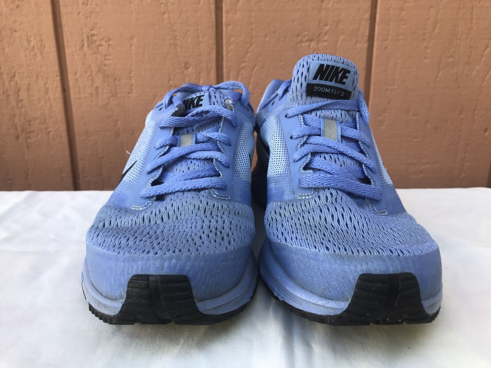 new style 9f8a8 97819 ... Nike Women s Women s Women s Air Zoom Fly 2 Chalk Blue Black Racer Blue  Running ...