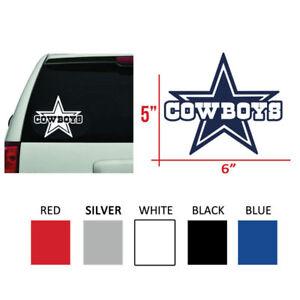 Dallas Cowboys Thru Star Logo Vinyl Decal Sticker 6 Ebay