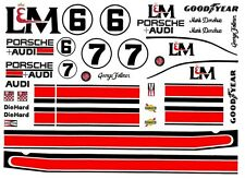 BHR Andretti Holman Moody McLaren 429/'er Pro Decal Sheet HO 1//64
