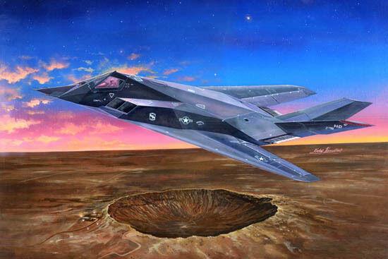 Trumpeter 1 32 F-117A Nighthawk