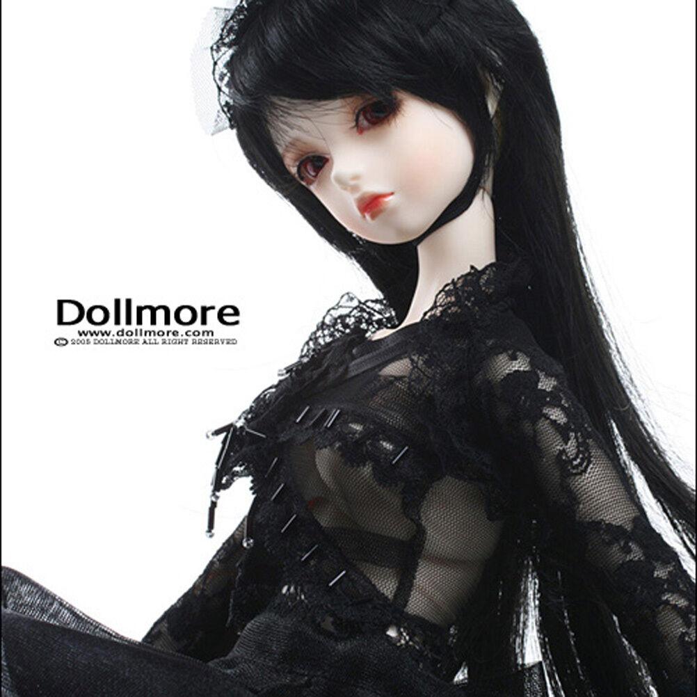Dollmore BJD SD-Mata SD-Mata SD-Mata Conjunto Vestido Negro  soporte minorista mayorista