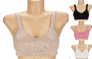 b8e90e19f7f16 Image is loading Breezies-Seamless-Floral-Side-Smoothing-Wirefree-Bra -A301382-