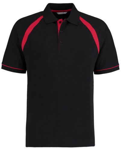 Kustom Kit Men/'s Oak Hill Polo Shirt 100/% Cotton Smart Work Wear Top KK615