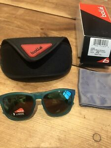 New-BOLLE-473-12062-Matte-Turquoise-Polarised-Brown-Emerald