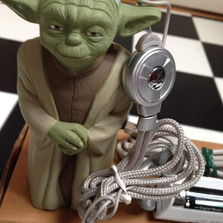 Star Wars Episode Ⅲ Yoda MP3 Player figure 2005 ONLY600 Japan Extremely RARE