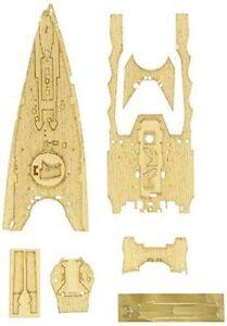 Hasegawa-1-350-Wood-Deck-for-Battleship-Nagato-1941-Detail-Up-Parts-NEW-Japan