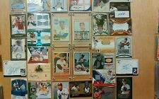 Auto, Patch, Jersey lot, multiple autos, patches,#d cards. Must reduce stock..